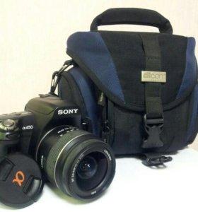Зеркальная фотокамера Sony A450