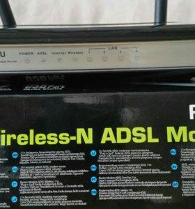 Маршрутизатор Wi-Fi роутер ASUS DSL-N12U б/у