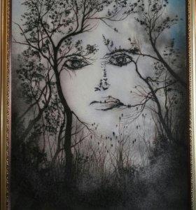 Картина из каменной крошки