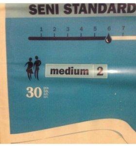 Памперсы для взрослых Seni standard