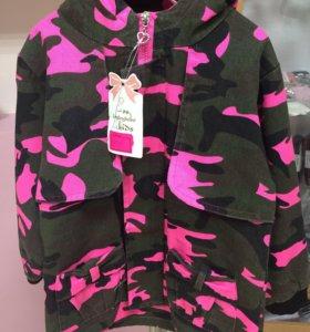 Новые куртки для девочек