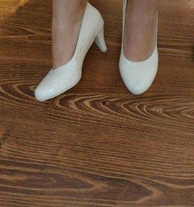 Свадебные туфли 39-39.5