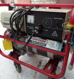 Бензиновый генератор HONDA GX-390,HUUTOAN SH-7500