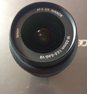 Объектив Nikon 18-55mm AF 1:3.5-5.6