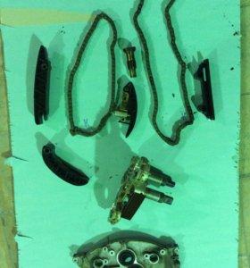 Цепь, успокоитель, туарег нф 3.6 с 2010г