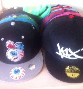 Кепки (30 шт) и шапка