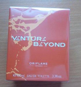 Мужская туалетная вода Venture Beyond от Орифлейм.