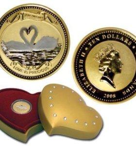 Золотая монета коллекционная