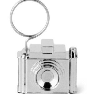 Стильный Держатель для фотографий и записок хром