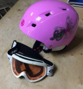 Детский шлем Lange и Маска Carrera