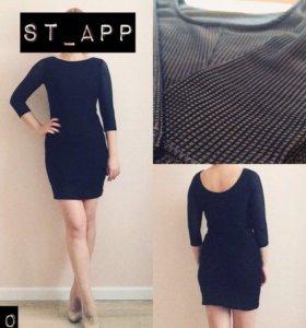 Коротенькое чёрное платье