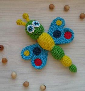 Слингобусы, грызунки, вязаные игрушки