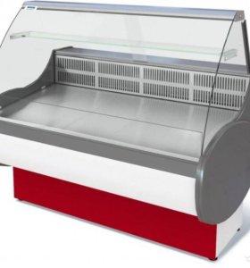 Холодильная витрина Полюс ВХС-1,4 Эко б/у