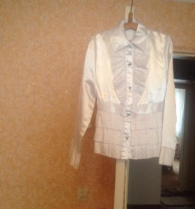 Блузка на девочку подросткового возраста