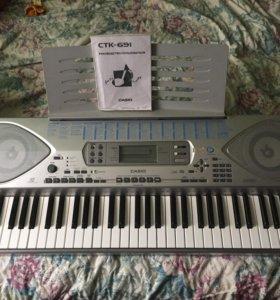 Синтезатор Casio СТК-691