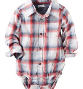 Carters боди-рубашка новая