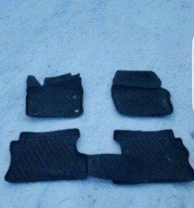 коврики резиновые форд фокус 2