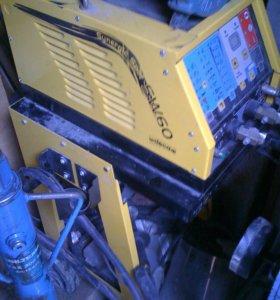 Споттер DECA SW60 с обратным молотком и тележкой