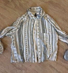 Укорочённая блузка