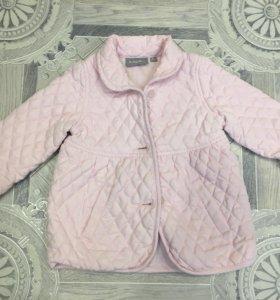 Пальто на девочку baby Go 86р.