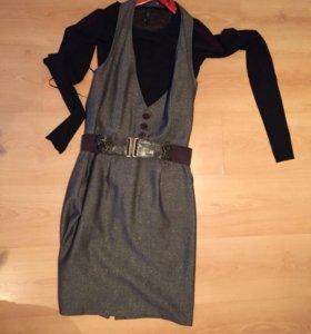 Комплект кофточка и юбка