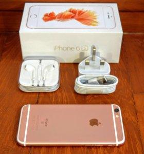 Абсолютно новый iPhone 6s 128gb