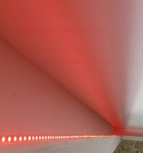 Короба из гипсокартона для натяжных потолков