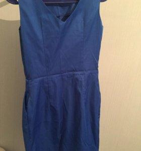 Платье розовое и синие