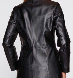 Кожаное пальто Франция