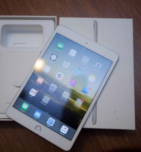 iPad mini 3 wi-fi + Cellular 128 Gb Silver -Retina