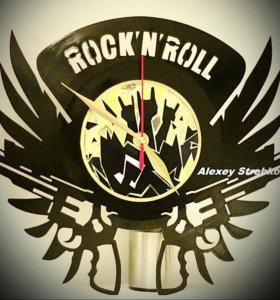 Настенные часы Рок н Ролл