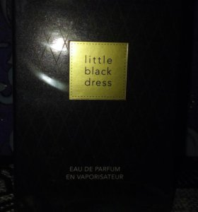 AVON. LITTLE BLACK DRESS
