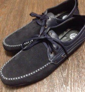 Туфли нубук