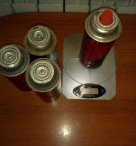 Газ баллончики для горелок и порт. печей.