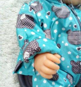 Зимний комбинезон для кукол типа baby born