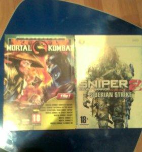Диски.SNIPER 2.Mortal Kombat