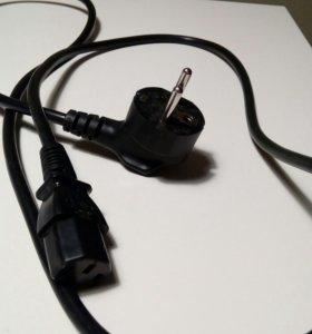 Сетевой кабель для системного блока\монитора