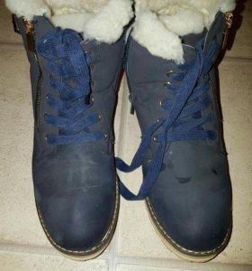 Зимние ботинки 37,5