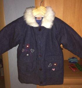 Куртка новая 98-104