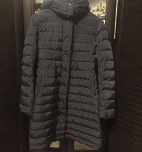 Пальто- пуховик демисезонное