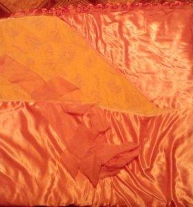 Одеяло для новорожденной