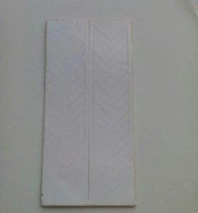 Полоски на ногти для французского маникюра
