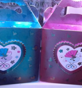 Коробочки мальчик и девочка