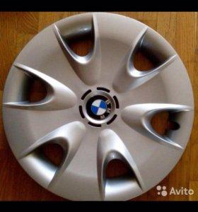 Оригинальные колпаки на BMW.