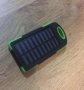 Power bank( повер банк) с солнечной батареей