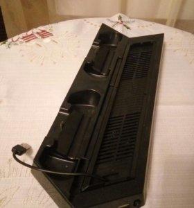 Подставка и зарядная станция для PS4 и PS4 Slim
