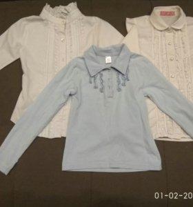 Блузки для девочки