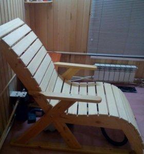 Кресло из липы (для бани)