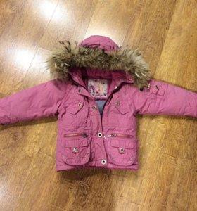 Зимняя куртка размер 92+8