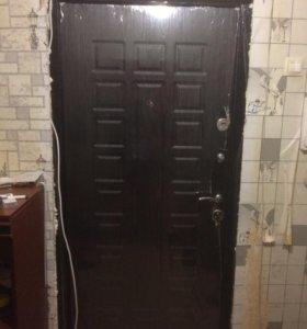 Установка железных дверей